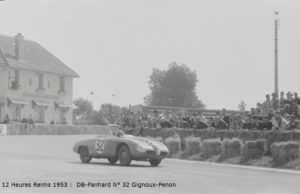 12 Heures Reims 1953 DB-Panhard N° 32 Gignoux-Penon
