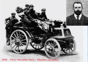 1896-Paris-Marseille-Paris-Mayade Vainqueur