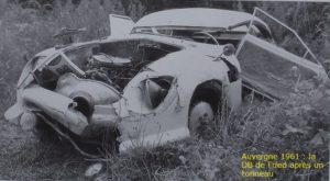 DB-AUVERGNE 1961 ACCIDENTE-FRIED