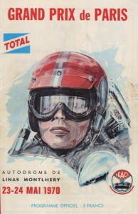 Grand Prix de Paris 1970 -AFFICHE