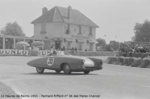 Panhard-Riffard-12H Reims 1953 Chancel