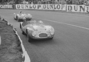 Panhard VM5 N°50 Chancel Le Mans 1955