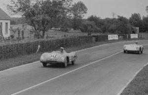 Panhard VM5 N°50 Chancel Le Mans 1955 - piste