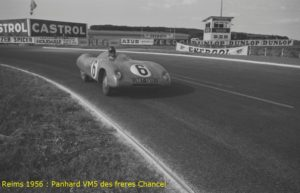 Panhard VM5 freres Chancel REIMS 1956