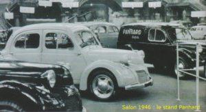 STAND PANHARD 1946