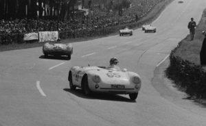 panhard VM5 N°50 Chancel Le Mans 1955 Piste